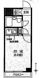 ライオンズマンション拝島第2[2階]の間取り