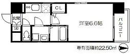 エスリードTENROKU(エスリード天六)[8階]の間取り
