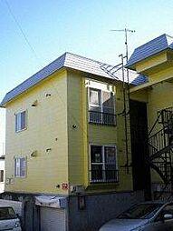 北海道札幌市西区宮の沢三条5丁目の賃貸アパートの外観