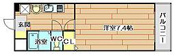 フィオーレ南平台[2階]の間取り