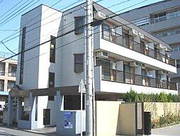 埼玉県越谷市蒲生西町2丁目の賃貸マンションの外観