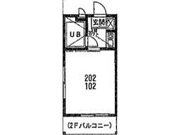 メゾンド・エポール弥栄[2階]の間取り