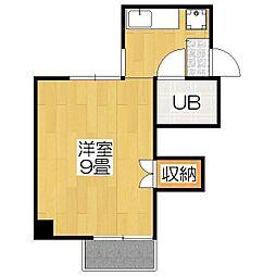 ハウス50[2-E号室]の間取り