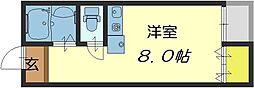 ピア小阪[1階]の間取り