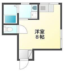 陸ビル[3階]の間取り