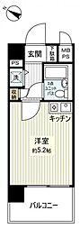 ライオンズマンション船橋東[5階]の間取り