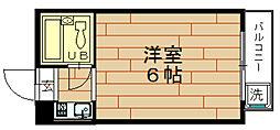 LeA・LeA九条52番館[2階]の間取り