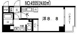 ララプレイス四天王寺夕陽ヶ丘[7階]の間取り