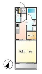 アデグランツ大須[2階]の間取り