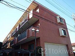 かつみマンション[3階]の外観