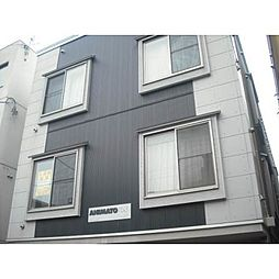 北海道札幌市北区北十五条西3丁目の賃貸アパートの外観