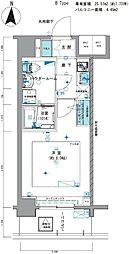 メインステージ亀戸III[2階]の間取り