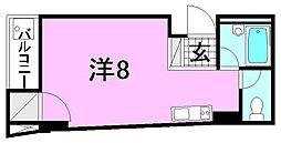 M-court三番町[401 号室号室]の間取り