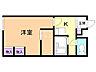間取り,1K,面積23.18m2,賃料3.3万円,札幌市電2系統 西線14条駅 徒歩9分,札幌市電2系統 西線11条駅 徒歩6分,北海道札幌市中央区南十四条西19丁目2番40号