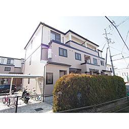奈良県奈良市高畑町の賃貸アパートの外観