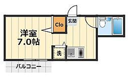 ウィンベルソロ相模大塚第4[7階]の間取り