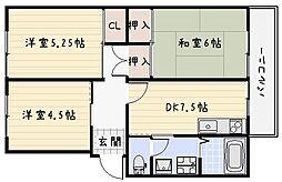 第2ACビル[4階]の間取り