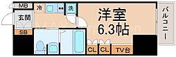 レジュールアッシュPREMIUMTWIN−1[3階]の間取り