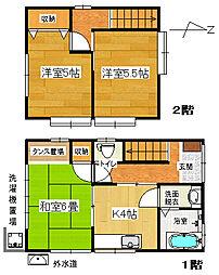 [一戸建] 静岡県裾野市平松 の賃貸【/】の間取り