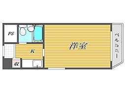 ライオンズマンション東池袋第2[5階]の間取り