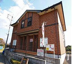 福岡県遠賀郡遠賀町大字鬼津の賃貸アパートの外観