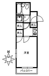 ライオンズマンション京浜蒲田 bt[507kk号室]の間取り