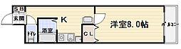 大阪府守口市高瀬町1丁目の賃貸マンションの間取り