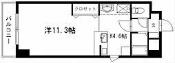 グランメール21[1階]の間取り