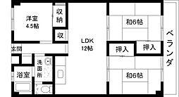 STビル[1階]の間取り
