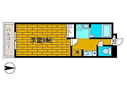 コスモ新百合丘2[2階]の間取り