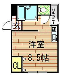 メゾン松村[315号室]の間取り