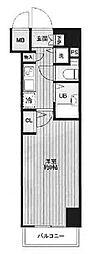 東京都文京区湯島4丁目の賃貸マンションの間取り
