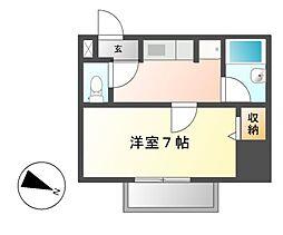 ハイツアイカ春岡[2階]の間取り