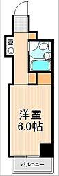 スカイコート入谷[8階]の間取り