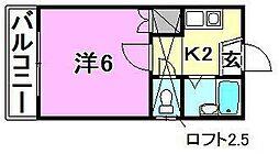 アロッジオ桜ヶ丘[104 号室号室]の間取り