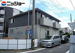 愛知県名古屋市中村区森田町2丁目の賃貸アパートの外観