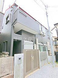 東京都大田区蒲田3丁目の賃貸アパートの外観