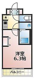 エステムコート新大阪オルティ[5階]の間取り