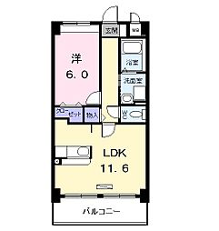 アネックス稲永駅前[0307号室]の間取り