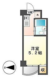 露橋ロイヤルハイツII[1階]の間取り