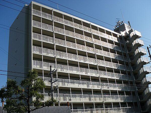 佃第1ローズマンション[8階]の外観