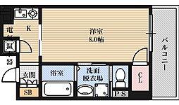 エステムヒルズ新大阪[2階]の間取り