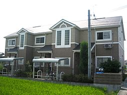 兵庫県姫路市大津区天満の賃貸アパートの外観