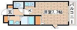兵庫県三木市緑が丘町中2丁目の賃貸アパートの間取り