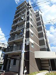 大阪府大阪市東住吉区針中野1の賃貸マンションの外観