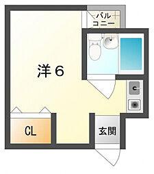 JPアパートメント守口V[2階]の間取り