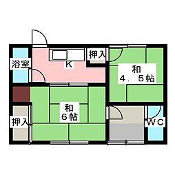 [一戸建] 愛知県北名古屋市熊之庄古井 の賃貸【/】の間取り
