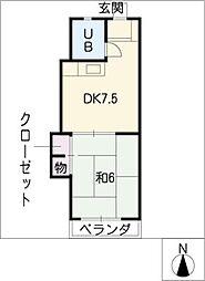 緑園第2サンコーポ[2階]の間取り