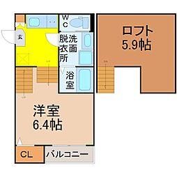 Loft15野並[2階]の間取り