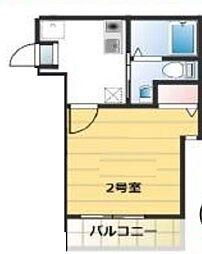 神奈川県川崎市麻生区高石1の賃貸アパートの間取り
